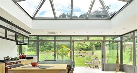 veranda extension cuisine véranda en extension cuisine dans maison de maître