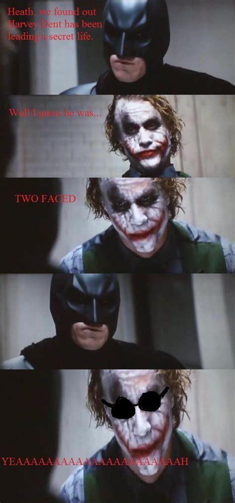 Dark Knight Joker Meme - image 15003 dark knight 4 pane know your meme