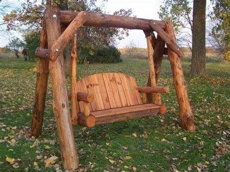 log porch swing plans woodworking projects plans