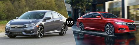 2018 Honda Civic Vs 2018 Honda Accord