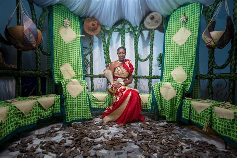 african wedding  affolaby james franck mariage coutumier