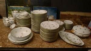 Service Vaisselle Porcelaine : service de table en porcelaine de limoges vaisselle maison ~ Teatrodelosmanantiales.com Idées de Décoration
