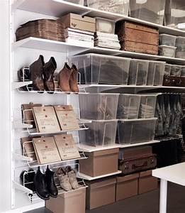 Boite à Chaussures Transparentes : espace de rangement avec tag res blanches range ~ Dailycaller-alerts.com Idées de Décoration