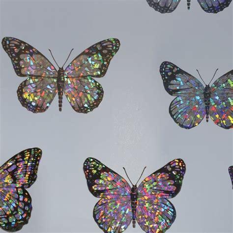 arthouse prism butterflies foil holographic metallic