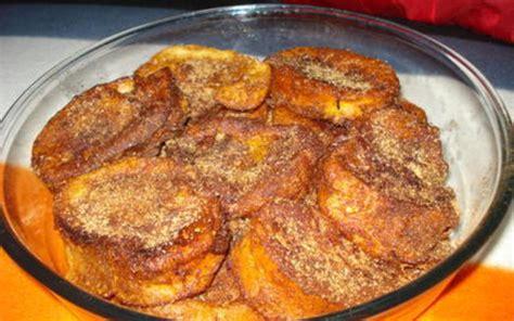 recette de cuisine portugaise facile recette rabanadas perdu à la portugaise