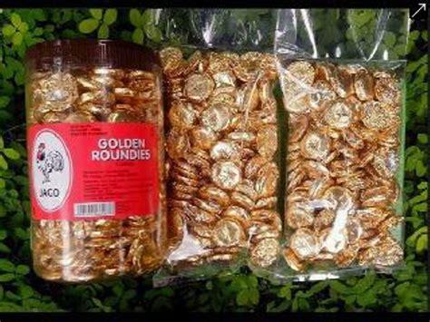 jual delfi golden roundies gr  kg coin milk