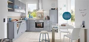 Graue Küche Welche Wandfarbe : moderne graue k chen vielseitig und elegant m bel kraft ~ Markanthonyermac.com Haus und Dekorationen
