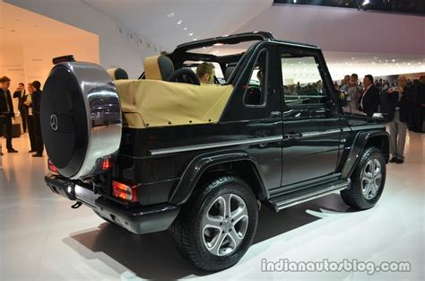 Mercedes G Class Cabriolet by Mercedes G Class Cabriolet Edition 200 Rear Three