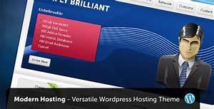 13 Best Modern and Professional WordPress Hosting Themes ...