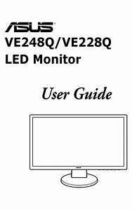 Asus Ve248q User Manual Pdf Download