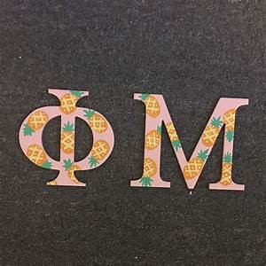 best 25 sorority letters ideas on pinterest painted With phi mu wooden letters