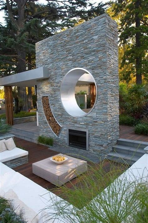 sunken patio ideas  pinterest garden seating