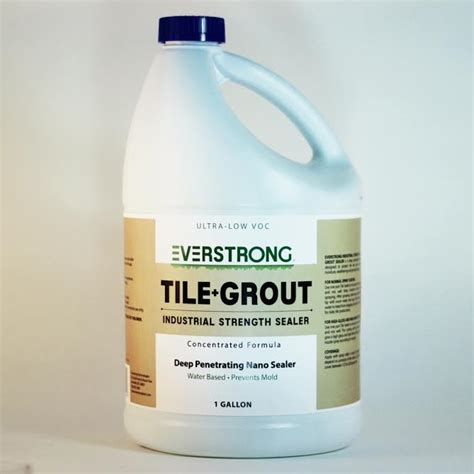 everstrong industrial strength nano tile and grout sealer