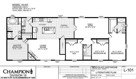 great champion homes floor plans  home plans design