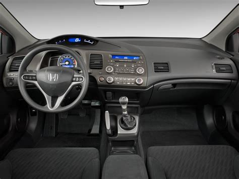 image  honda civic coupe  door auto  dashboard