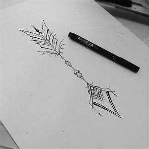 Dessin Fleche Tatouage : pingl par anita meow sur grrrrrr pinterest id es de tatouages henn et tatouages ~ Melissatoandfro.com Idées de Décoration