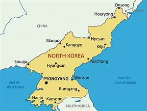 North Korea Map - Guide of the World