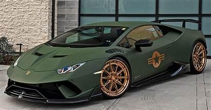 Lamborghini Huracan Matte Performante Army Dub