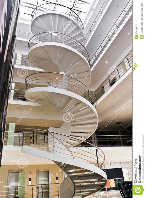 spiral staircase stock image image  twist twisting