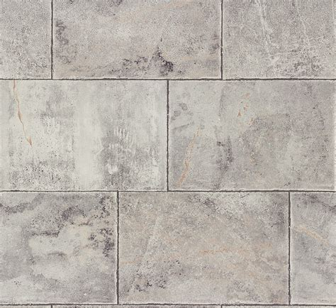 Vliestapete Grau Fliesen Home Style Rasch 461503