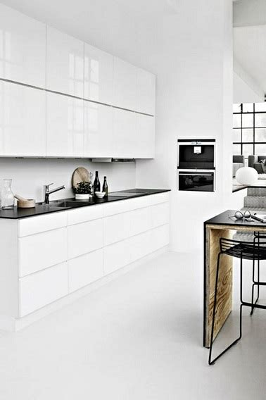 cuisine blanche design 4 styles déco pour une cuisine blanche deco cool