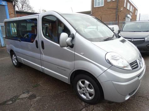 Trafic 9 Seater by 2014 14 Renault Trafic 2 0 Dci Sport Lwb 9 Seater