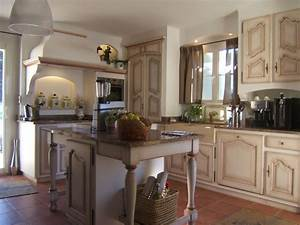 cuisine provencale modele fontaine vaucluse avignon l39isle With modele de cuisine provencale