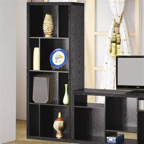 Black Wooden Bookcases by Black Wood Bookcase A Sofa Furniture Outlet Los