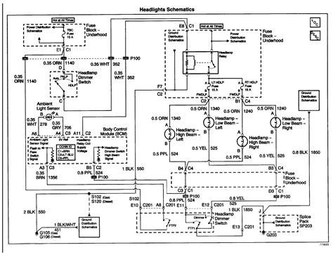 gmc sierra wiring schematic  wiring diagram