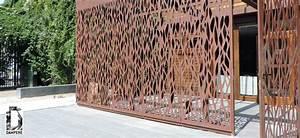 Panneau Métallique Décoratif : d coration facade au motif continu sans pliage ~ Teatrodelosmanantiales.com Idées de Décoration
