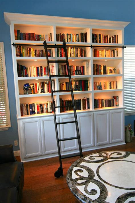 library bookcase with ladder bookcase with a rolling library ladder entertainment