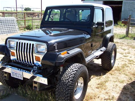 jeep yj jeep wrangler yj technical details history photos on