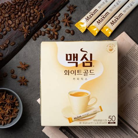 Maxim coffee is the most famous instant coffee in korea, so if you want an authentic drink, buy maxim! MAXIM White Gold Coffee Mix 11.7g x 50ea | Shopee Malaysia