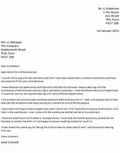 Warehouse Skills Examples Wholesale Job Cover Letter Example Icover Org Uk