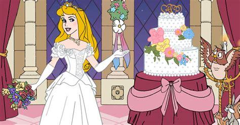 auroras wedding day dress  game disney princess