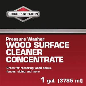Briggs  U0026 Stratton Wood Surface Cleaner Concentrate  1 Gal