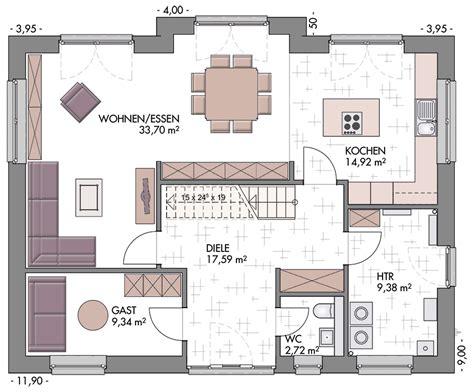 Einfamilienhaus Modern Satteldach Grundriss Emphitcom