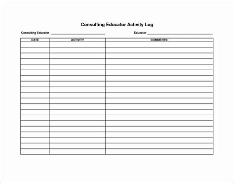 log sheet template excel exceltemplates exceltemplates