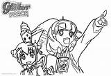 Glitter Coloring Force Pages Precure Printable Friends Bettercoloring sketch template