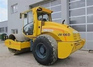 Vibromax Vm 106 Sigle Drum Roller Service Repair Workshop Manual Sm96106