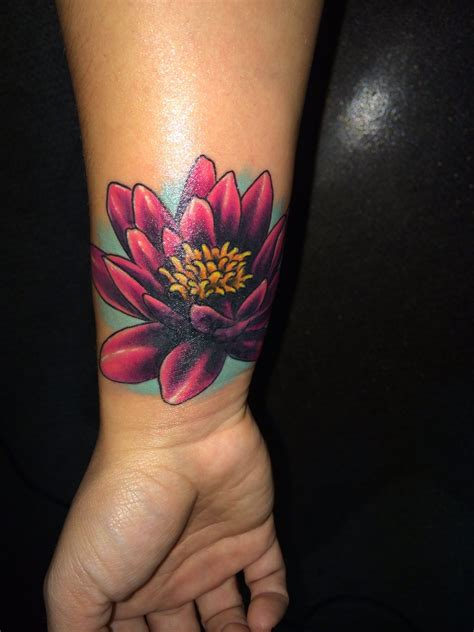 beautiful lotus flower cover  tattoos flower tattoos tattoos cover tattoo
