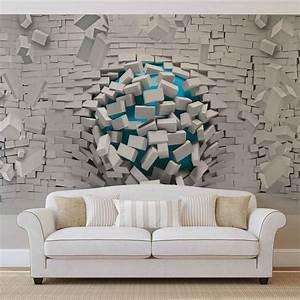 Eigenes Foto Als Fototapete : 3d geometrisch gegendstandlos modern fototapete vlies foto ~ Articles-book.com Haus und Dekorationen