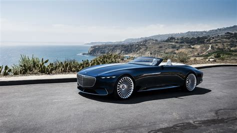 2018 Vision Mercedes Maybach 6 Cabriolet 5 Wallpaper