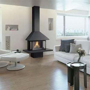 Cheminée Bois Design : chemin e design ~ Premium-room.com Idées de Décoration