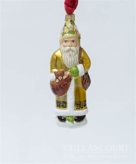 5th day of christmas glimmer ornament from vaillancourt