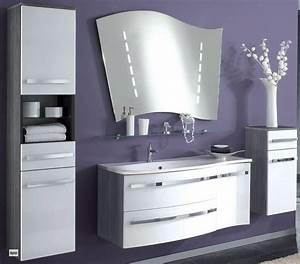 Badmöbel Set Holzoptik : badm bel set 5 teile spiegel 2x14w waschbecken hochschrank unterschrank h ngend ~ Frokenaadalensverden.com Haus und Dekorationen