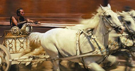 ben hur chariot scene facts