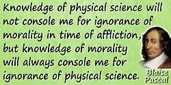 Blaise Pascal Quotes - 80 Science Quotes - Dictionary of ...