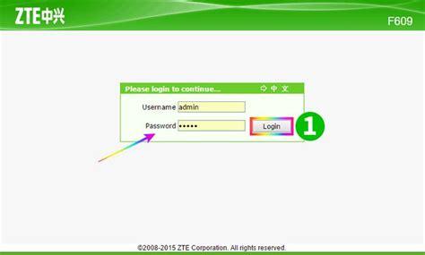 Solusi atas masalah ini masih ada, yaitu mengakses router melalui telnet. 192.168.1.1 - ZTE ZXHN F609 Router login and password