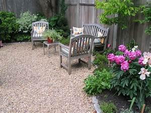 Terrasse Mit Kies : gartengestaltung mit kies blickfang und kaum pflege garten terrasse ideen garden ~ Markanthonyermac.com Haus und Dekorationen